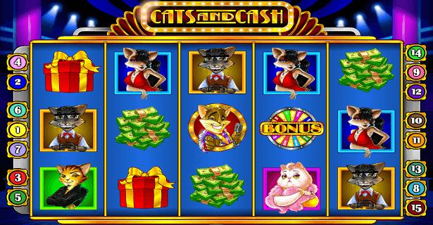 Cats and Cash slot - Spela online
