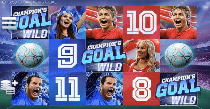 Champions Goal spelplan