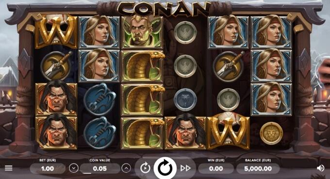 Conan Video Slot Bonus Game