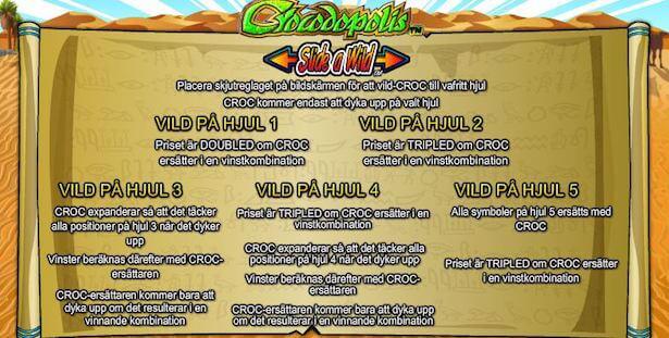 Crocodopolis Slot Wild
