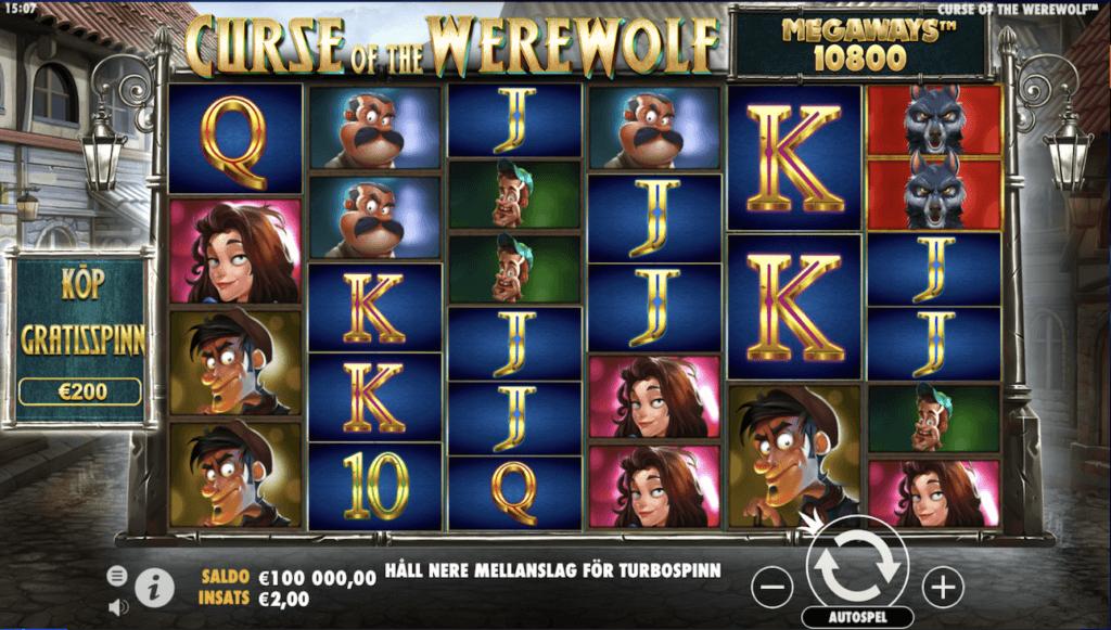 Curse of the Werewolf slot
