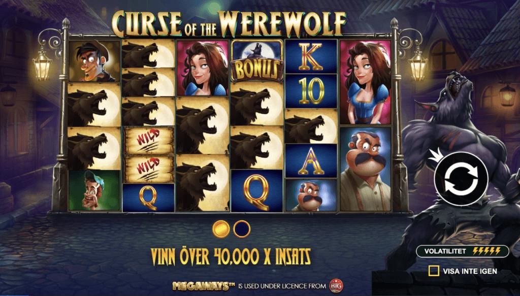 Curse of the Werewolf spelfunktion