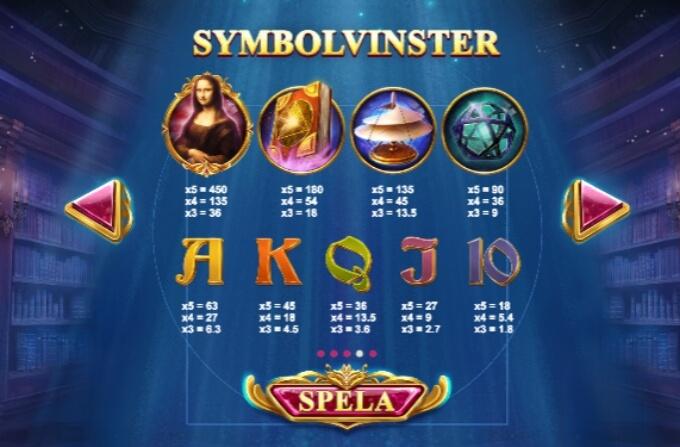Da Vincis Mystery Slot Bonus