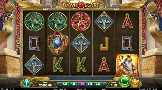 Dawn of Egypt Slot Bonus Game