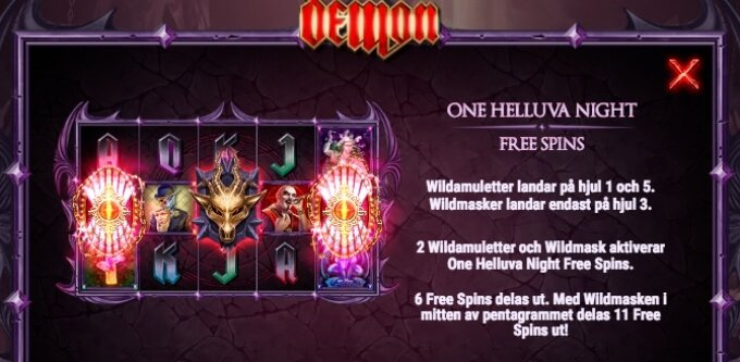 Demon Slot Bonus Symboler Free Spins