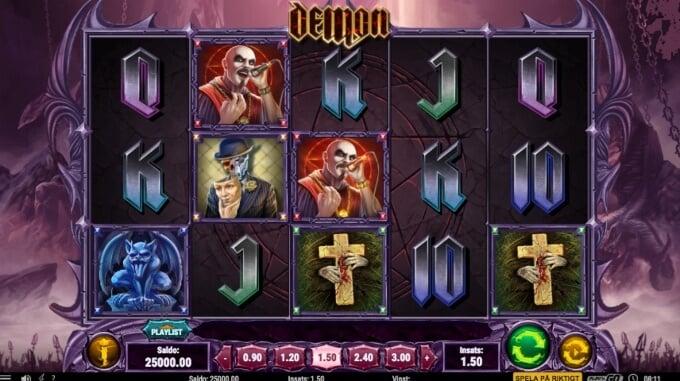 Demon Slot Bonus Symboler Spel