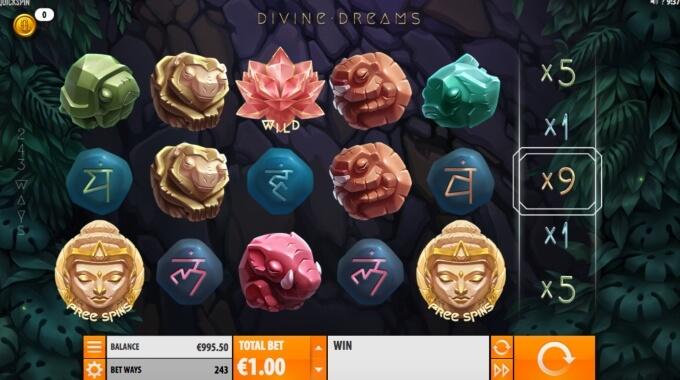 Divine Dreams Slot Spel