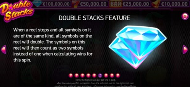 Double Stacks Slot Spel