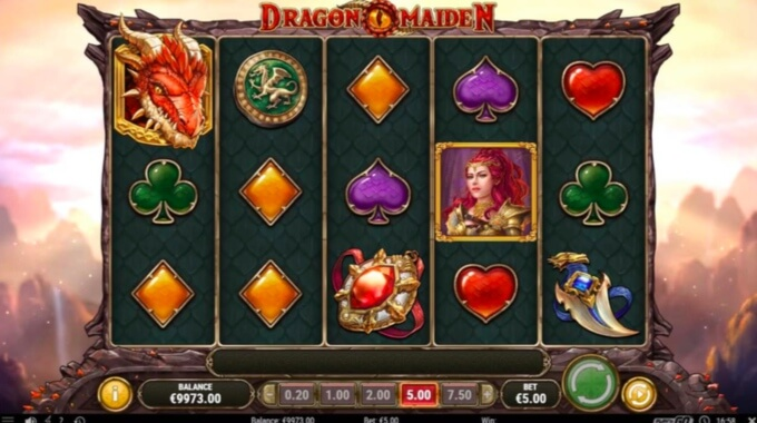Dragon Maiden Slot Bonus