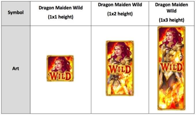 Dragon Maiden Slot Wild