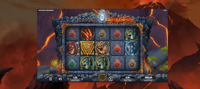 Dragons' spelbord