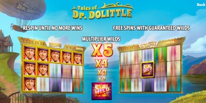 Tales of Dr Dolittle Slot Bonus