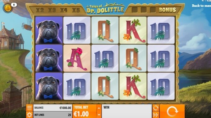 Tales of Dr Dolittle Slot Free Spins