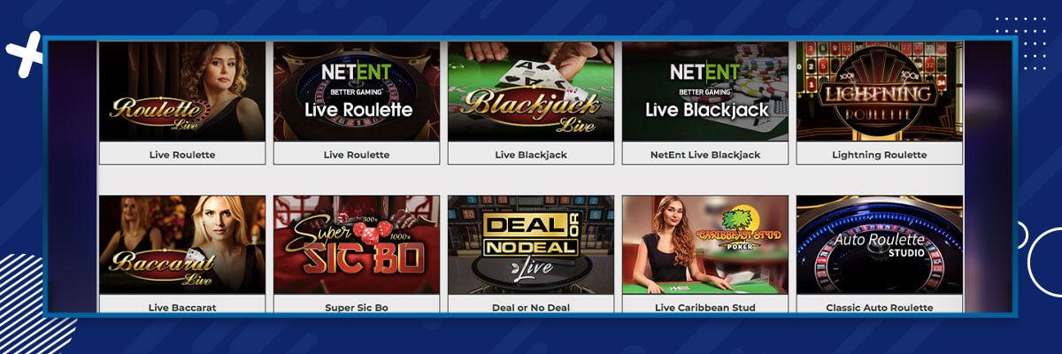 Dream Jackpot Casino Bonus Games