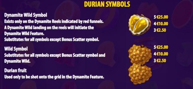 Durian Dynamite Slot Bonus