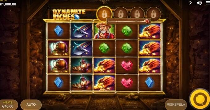 Dynamite Riches Slot Bonus Game