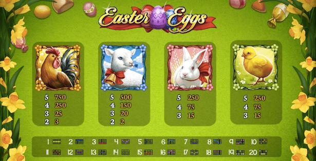 Easter Eggs Bonus