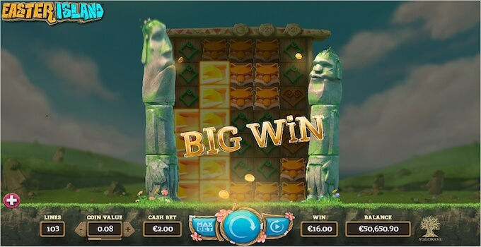 Easter Island slot Free Spins