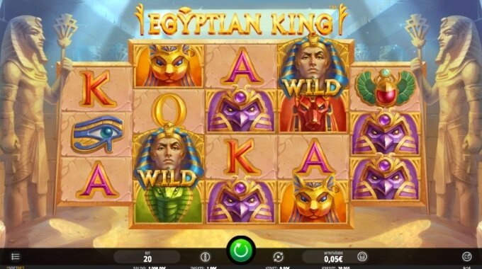 Egyptian King Slot Bonus Game