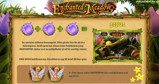 Enchanted Meadow Bonus