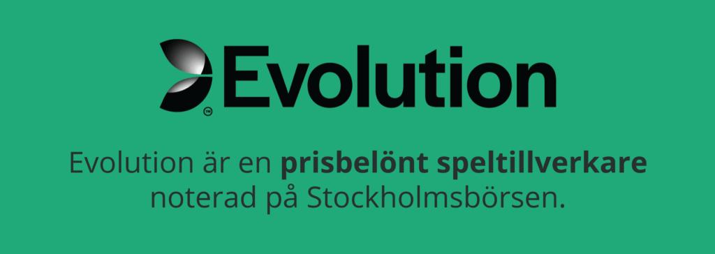Evolution prisbelönt speltillverkare noterad på börsen