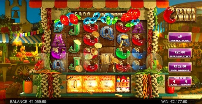 Extra Chilli Free Spins