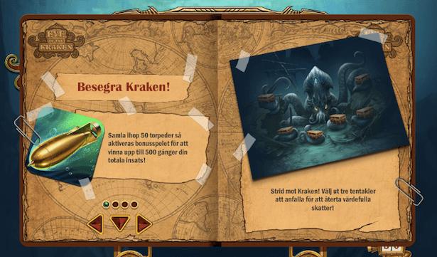 Eye of the Kraken Bonus
