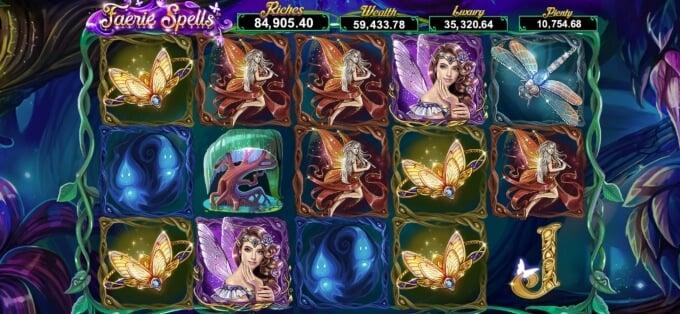 Faeri Spells Slot Bonus