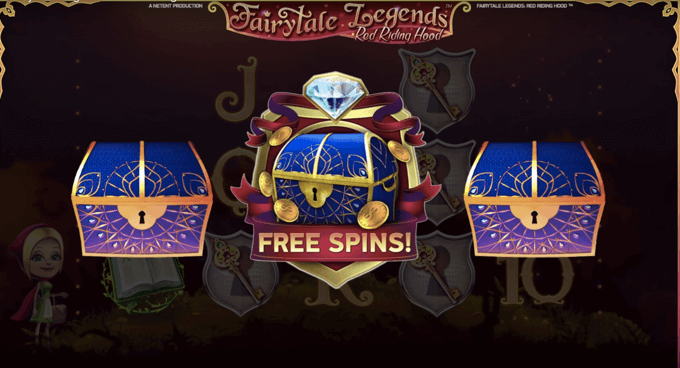 Freespins Red Riding Hood slot