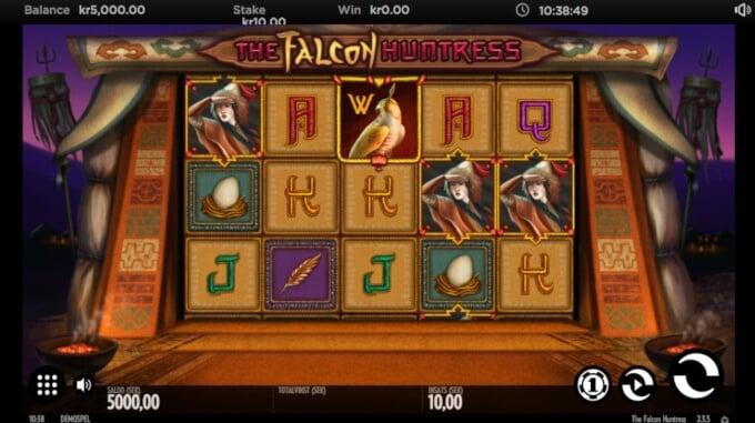 The Falcon Huntress Bonus Slot