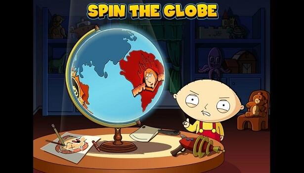 Bonusspel i Family Guy slot