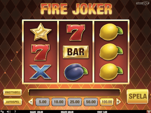 Fire Joker Bonus