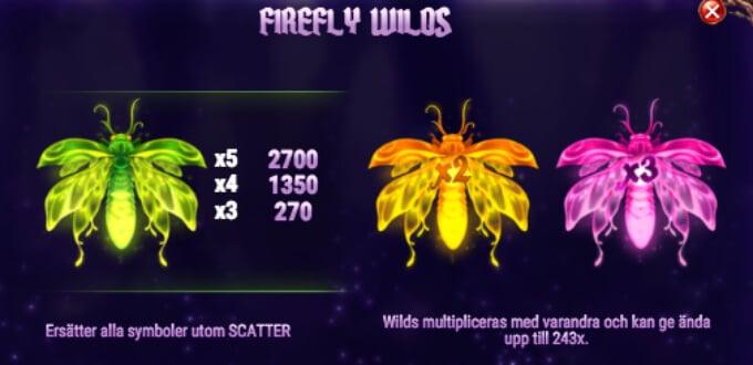 Firefly Frenzy Slot Bonus