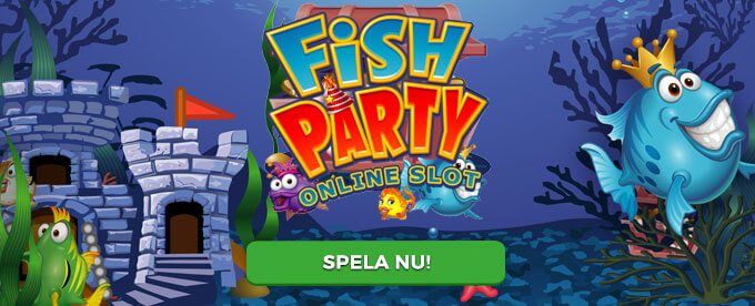 Fish Party banner