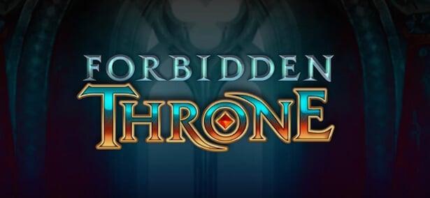 Forbidden Throne Slot Logga