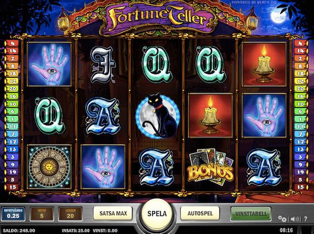 Fortune Teller Bonus