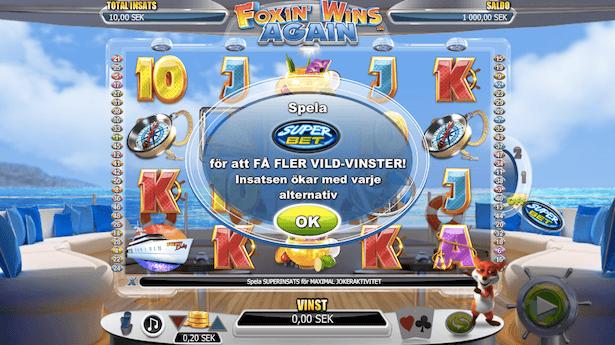 Foxin' Wins Again Bonus