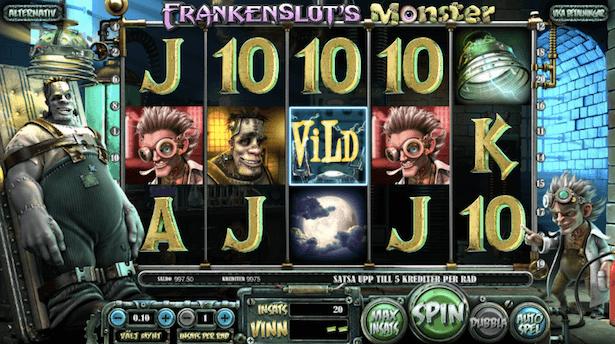 Frankenslots Monster Bonus