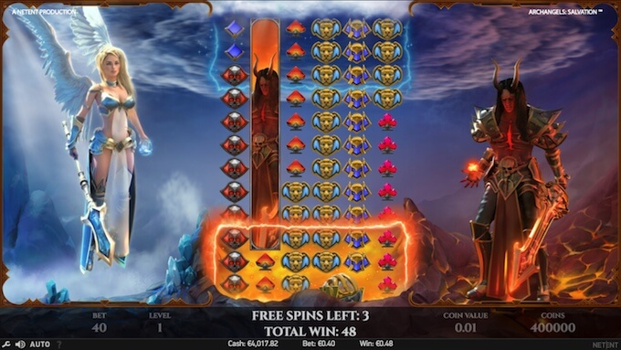 Archangels: Salvation slot free spins