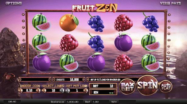Fruit Zen Bonus