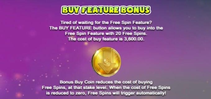 Fruitbat Crazy Slot Bonus