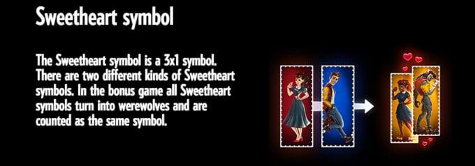 Full Moon Romance Slot Bonus Symbol