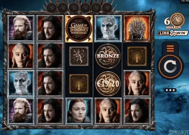 Game of Thrones Powerstacks Slot.