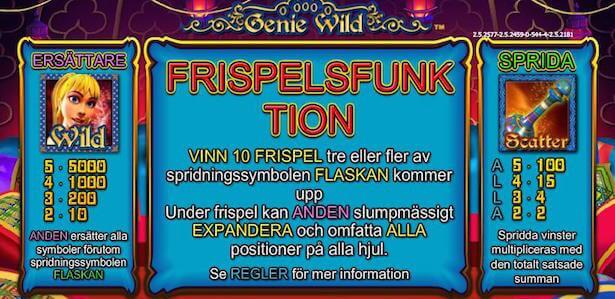 Genie Wild Slot Free Spins