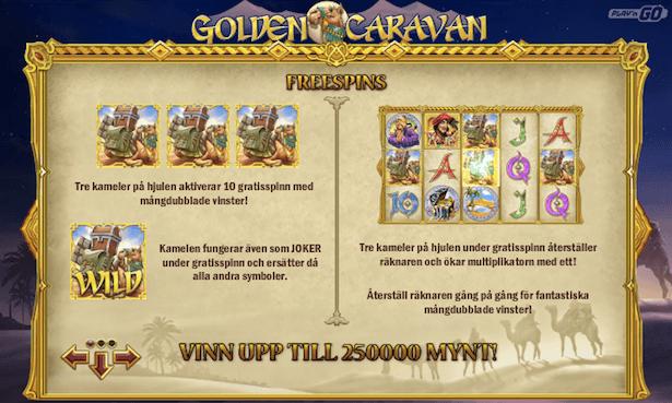Golden Caravan Bonus