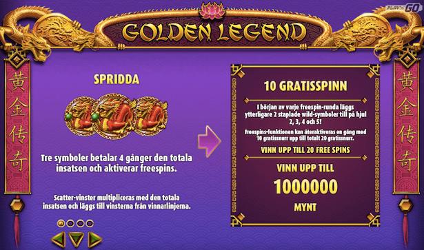 Golden Legend Bonus