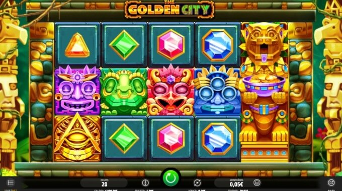 The Golden City Bonus Game