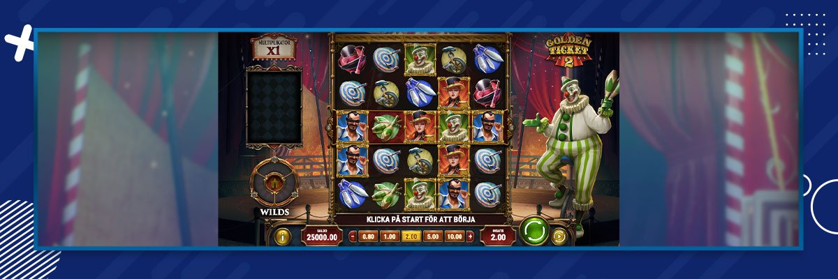 Golden Ticket 2 Slot Free Spins