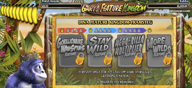 Gorilla Go Wild Bonus