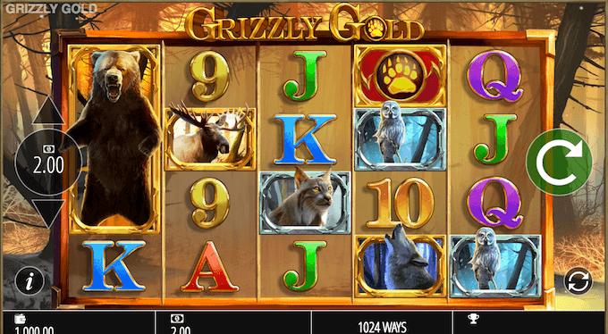Grizzly spelbord